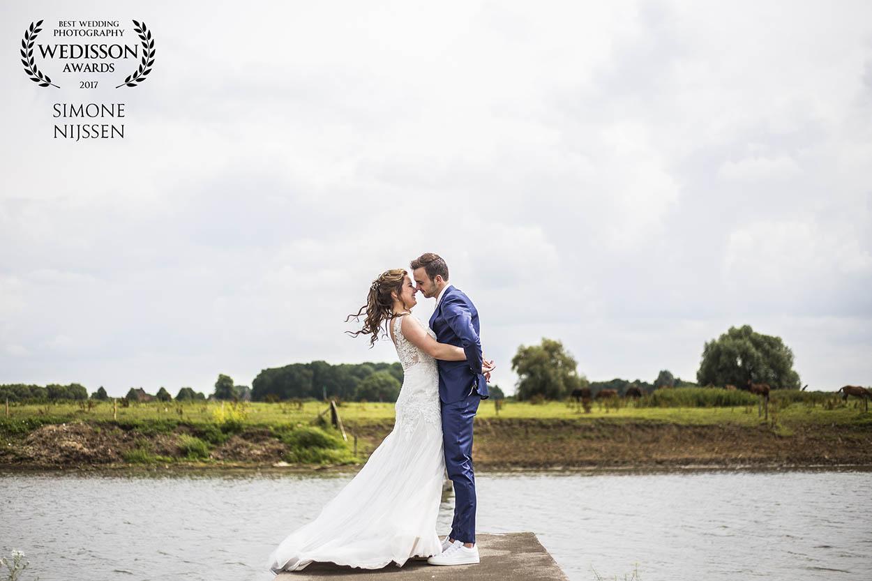 Een internationale bruidsfotografie award gewonnen!