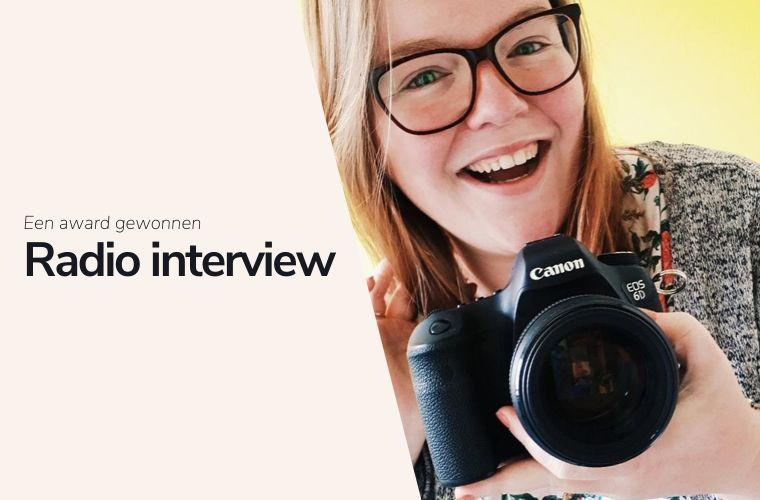Radio interview over mijn werk